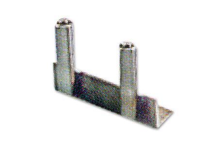 BOUCHON INOX D'EXTREMITE de tube MAIN COURANTE D43