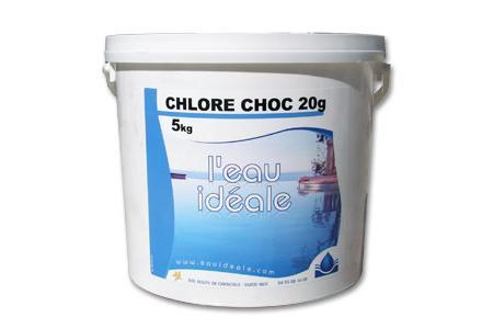 CHLORE CHOC 50 PASTILLES 20g  SELECTION EAUIDEALE  5 Kg