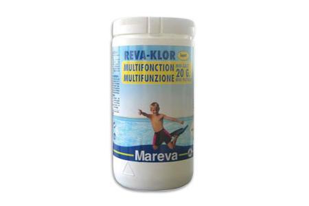 CHLORE MULTIFONCTION  MINI GALETS 20g  Boite de 1 kg