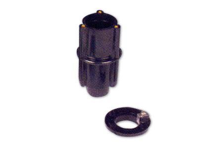 ANCRAGE PVC POUR DOUCHE INOX Diamètre 43mm