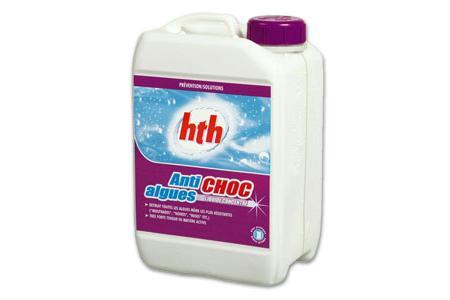 BLACKAL SHOCK 3 Litres  ANTI ALGUES CHOC HTH