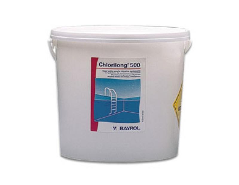 CHLORILONG 500 g BAYROL Seau de 10 Kg