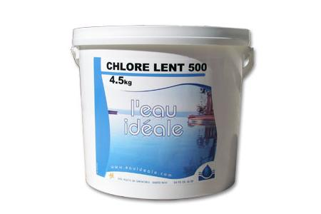 CHLORE LENT 500  5Kg   SELECTION EAU IDEALE By MAREVA