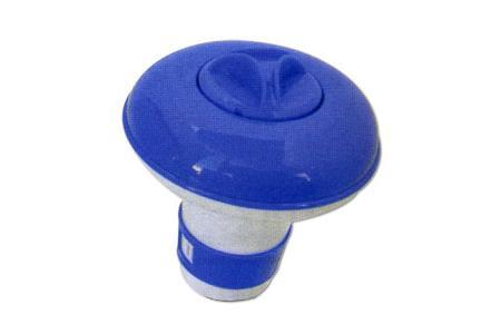 DOSEUR FLOTTANT MINI PISCINE & Spa Ø 12,5 cm pour pastilles de 20G