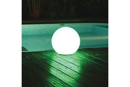 LAMPE FLOTTANTE RONDE A LED diamètre 35cm + télécommande