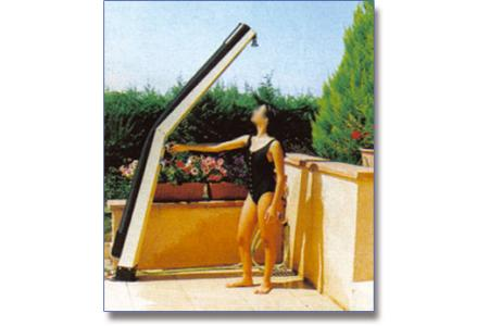 DOUCHE SOLAIRE GIORDANO COUDEE 20 L CLASSIQUE (sable)