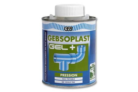 COLLE PVC PRESSION  GEBSOPLAST GEL PLUS 1 L