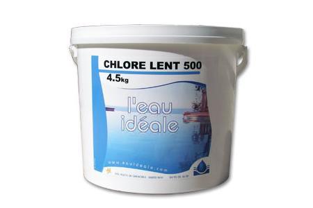 CHLORE LENT 500  5Kg   SELECTION EAU IDEALE By MAREVA