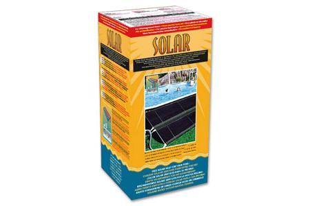 CAPTEUR SOLAIRE SOLAR SYSTEM  3,72m² pour bassin HORS SOL