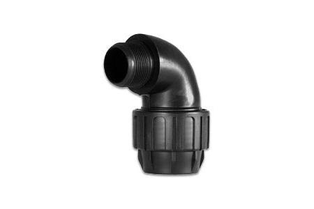 COUDE PVC SPIRALE 50F X FILETE 1 1 2 M