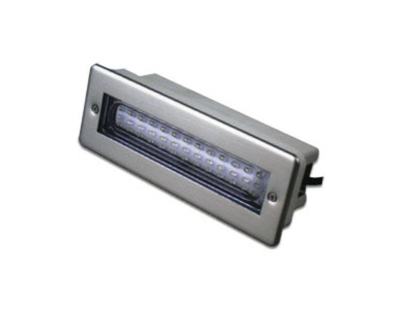 ENJOLIVEUR FRONTAL BLANC pour projecteur Leds  ADAGIO PLAT D. 10cm