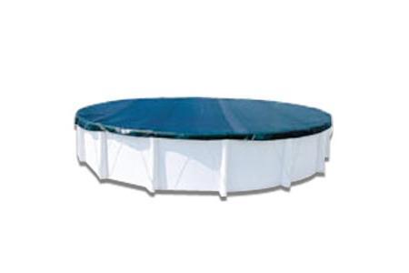 COUVERTURE HIVER HORS SOL OVALE 10,15 x 5,6m pour bassin de 9,15m X 4,6m