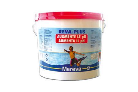 REVA PLUS DOUBLE ACTION Seau de 5 kg REHAUSSEUR de pH et TAC  MAREVA